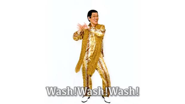 ピコ太郎が「PPAP」の手洗いソングバージョンを公開した結果www